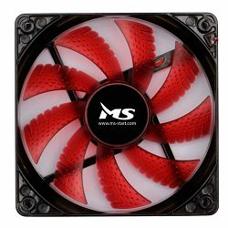 MS FREEZE L120 crveni fan 12 cm