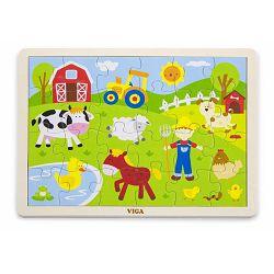 Drvene puzzle 24 kom - farma