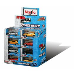 Metalni autić Power Racer 11 cm, pull back