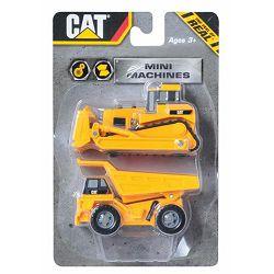 Građevinski strojevi CAT Mini Machine 7 cm, 2/1 SORTO