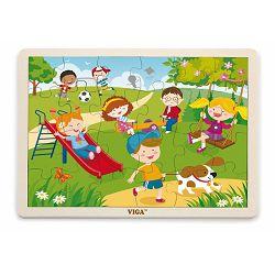 Drvene puzzle 24 kom - proljeće