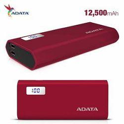ADATA  Power Bank P12500D Red