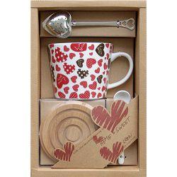 Šalica Love za čaj set