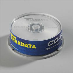 TRAXDATA OPTIČKI CD-R MEDIJ CAKE 25