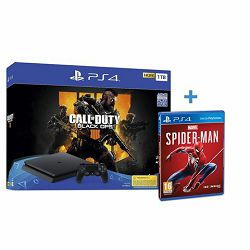 GAM SONY PS4 1TB F chassis + Call of Duty: Black Ops 4 + Spi