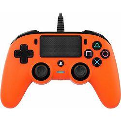 GAME PS4 Bigben PS4 Controller žični narančasti