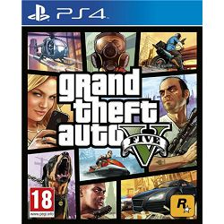 GAME PS4 igra GTA V