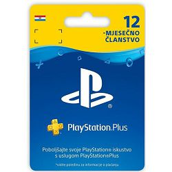 GAME PS4 PlayStation Plus Card 365 Days Hanger