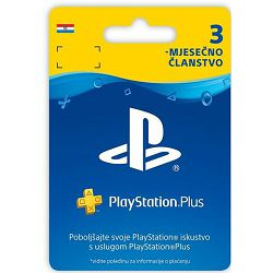GAME PS4 PlayStation Plus Card 90 Days Hanger