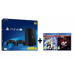 GAM SONY PS4 Pro 1TB + dod. kontoler + Ratchet and Clank + G