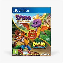 GAM SONY PS4 igra Crash Bandicoot + Spyro bundle