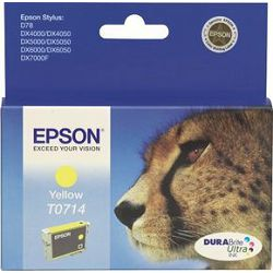 Tinta EPSON T0714 Yellow