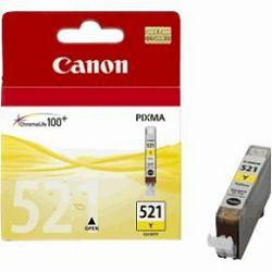 Tinta CANON CLI-521Y Yellow