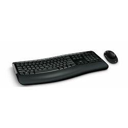 Microsoft Wireless Comfort Desktop 5050 with AES USBport
