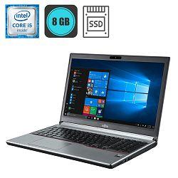 Fujitsu LifeBook E756, Intel Core i5-6300U, 8GB, 240GB SSD, WinPro