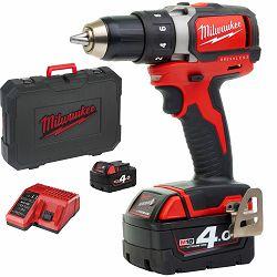 Milwaukee Aku bušilica M18 BLDD 402-C+ 2 baterije Li-Ion 4,0Ah