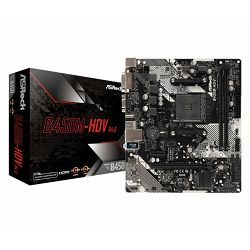 Asrock AMD AM4 B450M-HDV R4.0