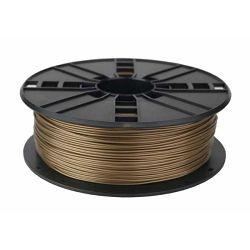 Gembird ABS filament for 3D printer, Gold, 1.75 mm, 1 kg