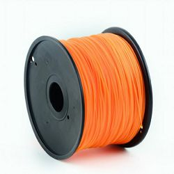 Gembird PLA filament for 3D printer, Orange 1.75 mm, 1 kg