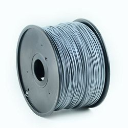 Gembird PLA filament for 3D printer, Silver 1.75 mm, 1 kg