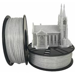 Gembird PLA filament for 3D printer, Marble 1.75 mm, 1 kg