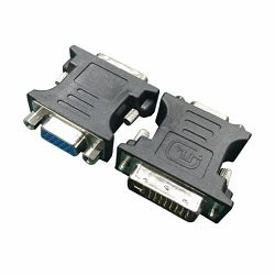 Gembird Adapter DVI-A male to VGA 15-pin HD (3 rows) female