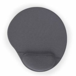 Gembird Gel mouse pad with wrist support, grey