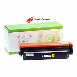 Toner Static Control HP Canon CF412X Yellow