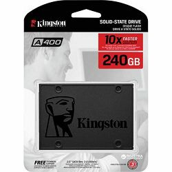 Kingston A400 240GB SSD, SATA