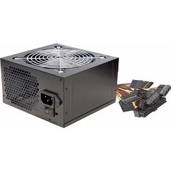 Linkworld PSU 600W, PFC, black