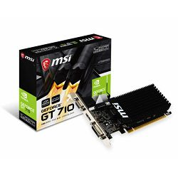 MSI GT710 1GD3H LP, 1GB