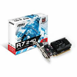 MSI R7 240 2GD3 64b LP 2048MB,PCI-E,DVI,HDMI,LP