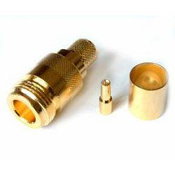 MaxLink VF konektor N female gilded for H1000, RF400