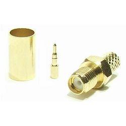 MaxLink VF konektor RSMA female gilded for H155, RF240