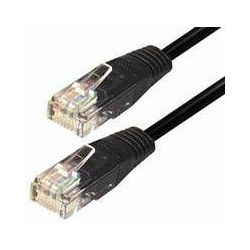 NaviaTec Cat5e UTP Patch Cable 0,25m black