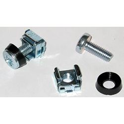 Digitus 1pc of Steel M6 Screw Caged Nut