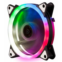 NaviaTec 5-Color Dual RING Colorful PC Case Fan -120mm