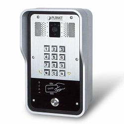 Planet 720p SIP Multi-unit Apartment Vandalproof Door Phone with RFID and PoE