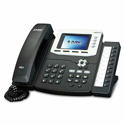 Planet Gigabit Color LCD HD PoE IP Phone (4-Line)