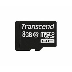 Transcend MicroSD 8GB, SDHC 10