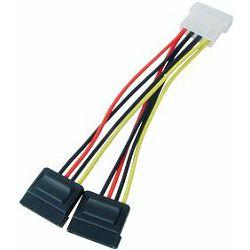 Transmedia 2x Sata Power Cable
