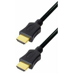 Transmedia HDMI cable with Ethernet 1,5m gold plugs