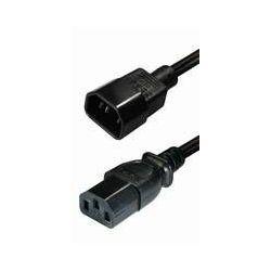 Transmedia IEC320 C14 plug -IEC320 C13jack 1,5m