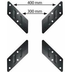Transmedia VESA Adaptor, change VESA 200 up to VESA 400