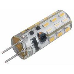 Transmedia LED capsule 12V AC DC, 1,3 W, 110 lm, G4 socket. 3000 K warm white