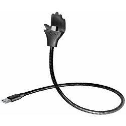 Transmedia flexible hand-holder for smartphones USB A - USB Typ C