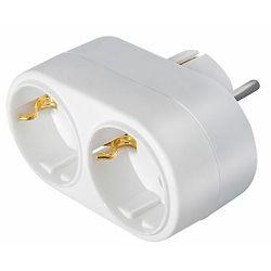 Transmedia Multiple adapter 2x CEE 7 7 plug