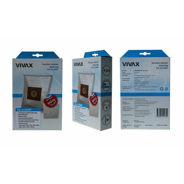 VIVAX HOME vrećice za usisavač sint. (4kom/pak) + filter DB-