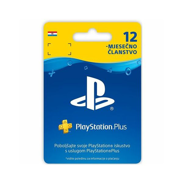 GAM SONY PS4 Plus Card 365 Days Hanger