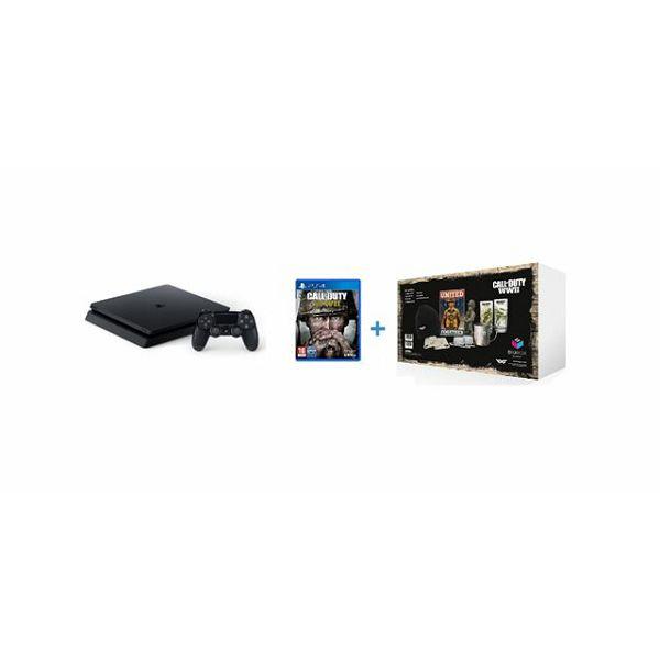 GAM SONY PS4 500GB + Call of Duty WWI Standar Edition + Big